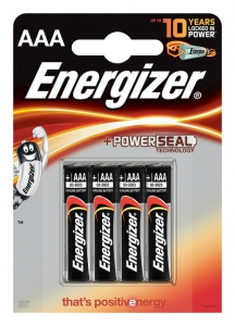 BATERIA ENERGIZER BASE POWER SEAL, AAA, LR03, 1, 5V, 4SZT., EN-247893