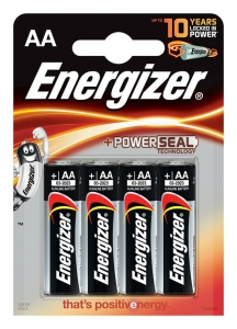 BATERIA ENERGIZER BASE POWER SEAL, AA, LR6, 1, 5V, 4SZT., EN-246599